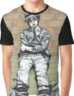 Harold Lloyd One of Those Days Drawing Graphic T-Shirt