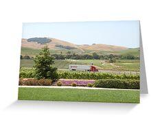 Napa Valley Scenery Greeting Card