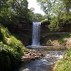 Minnehaha Falls by tom j deters