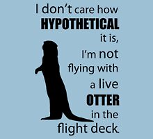 Otters In The Flight Deck Unisex T-Shirt