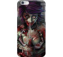 Zombie Girl Fan iPhone Case/Skin