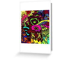 CRUX - Psychedelic artwork Greeting Card