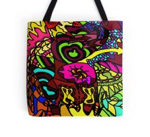 CRUX - Psychedelic artwork Tote Bag