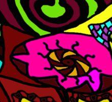 CRUX - Psychedelic artwork Sticker