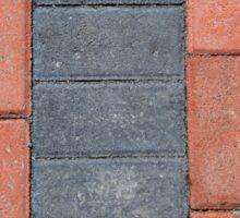 Sidewalk Blocks Sticker