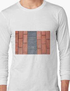 Sidewalk Blocks Long Sleeve T-Shirt