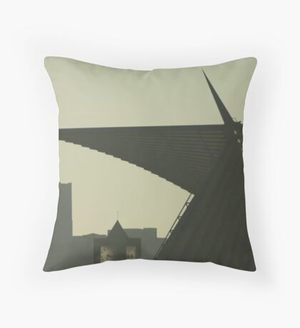 Time is with Art! Throw Pillow