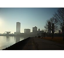 Milwaukee a city with a Harbor Photographic Print