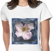 Flower Box Womens Fitted T-Shirt