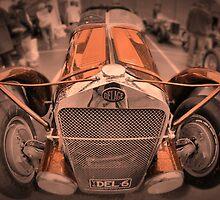 DeLage D670 Le Mans 1936 by Geoffrey Higges