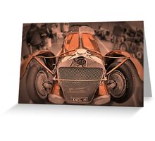 DeLage D670 Le Mans 1936 Greeting Card