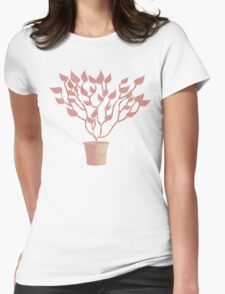 Tree Of Life - Pink Womens Fitted T-Shirt