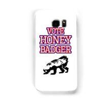 Vote Honey Badger Samsung Galaxy Case/Skin