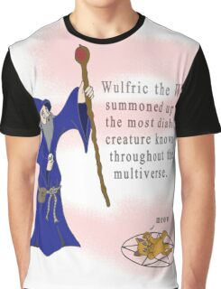 Wulfric the Wizard Graphic T-Shirt