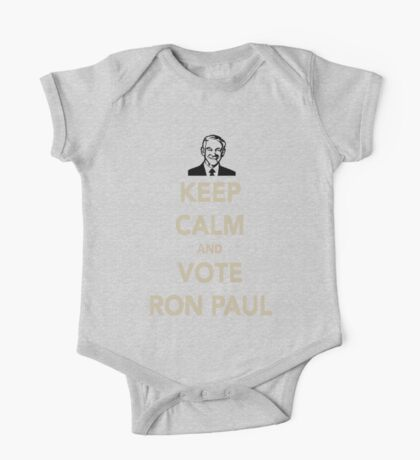 KEEP CALM AND VOTE RON PAUL One Piece - Short Sleeve