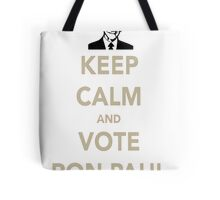 KEEP CALM AND VOTE RON PAUL Tote Bag