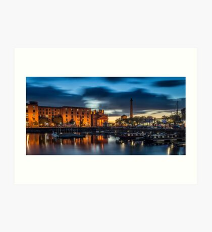 Salthouse Dock - Liverpool Art Print