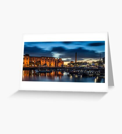 Salthouse Dock - Liverpool Greeting Card