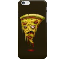 _zombie pizza iPhone Case/Skin