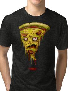 _zombie pizza Tri-blend T-Shirt