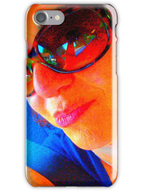 Portrait of the artist as an i phone case by maryevebramante