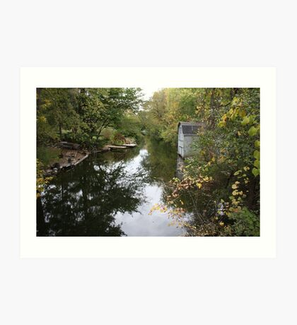The Oconomowoc River Art Print