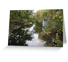 The Oconomowoc River Greeting Card