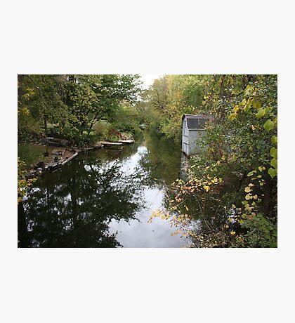 The Oconomowoc River Photographic Print