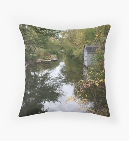 The Oconomowoc River Throw Pillow