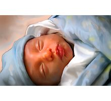 Isaac The Precious Baby Boy Photographic Print