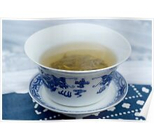 chinese green tea Poster