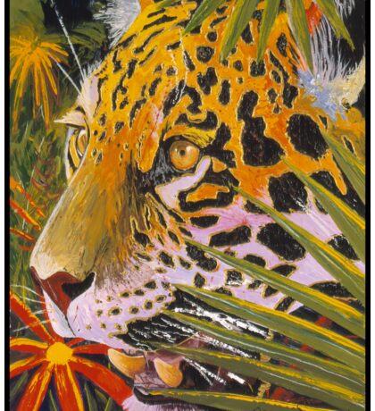 Jaguar Jungle Sticker