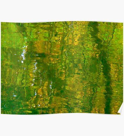 Green medley Poster