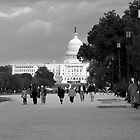 The View To Capitol Hill by Vince Russell