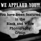 black n white photography group banner challenge by vigor