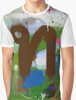 """Thai Characters """"ท"""" Graphic T-Shirt"""