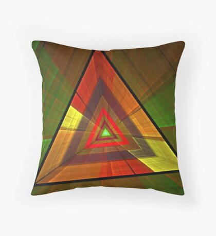 The Eye Of Providence Throw Pillow