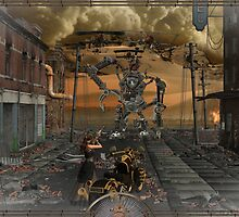 SteamPunk Fighter by Spyder