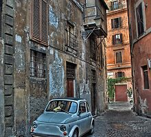 Rome and the 500, inseparables friends by mel365