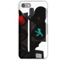 ampelmann says go iPhone Case/Skin