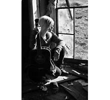 Done Writing Sad Songs Photographic Print