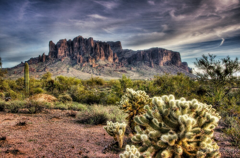 An Evening at the Superstitions  by Saija  Lehtonen