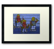 Band of Three Framed Print