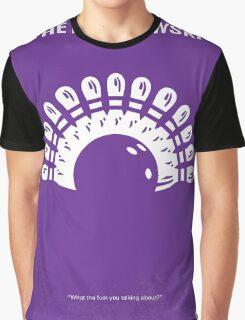 No010 My Big Lebowski minimal movie poster Graphic T-Shirt