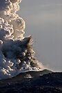 Kilauea Volcano at Kalapana 3 by Alex Preiss