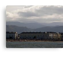 Not the Gold Coast but more real. Llundudno Wales Canvas Print