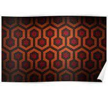 The Shining Carpet Pattern  Poster