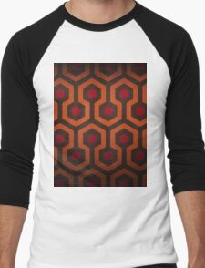 The Shining Carpet Pattern  Men's Baseball ¾ T-Shirt