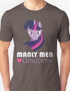 Manly Men Love Unicorns T-Shirt