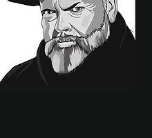 Orson Welles  by jennifersouter